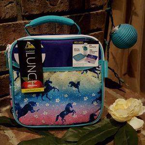 NWT Artic Zone Unicorn Insulated Lunch Bag